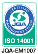 ISO14001 JQA-EM1007
