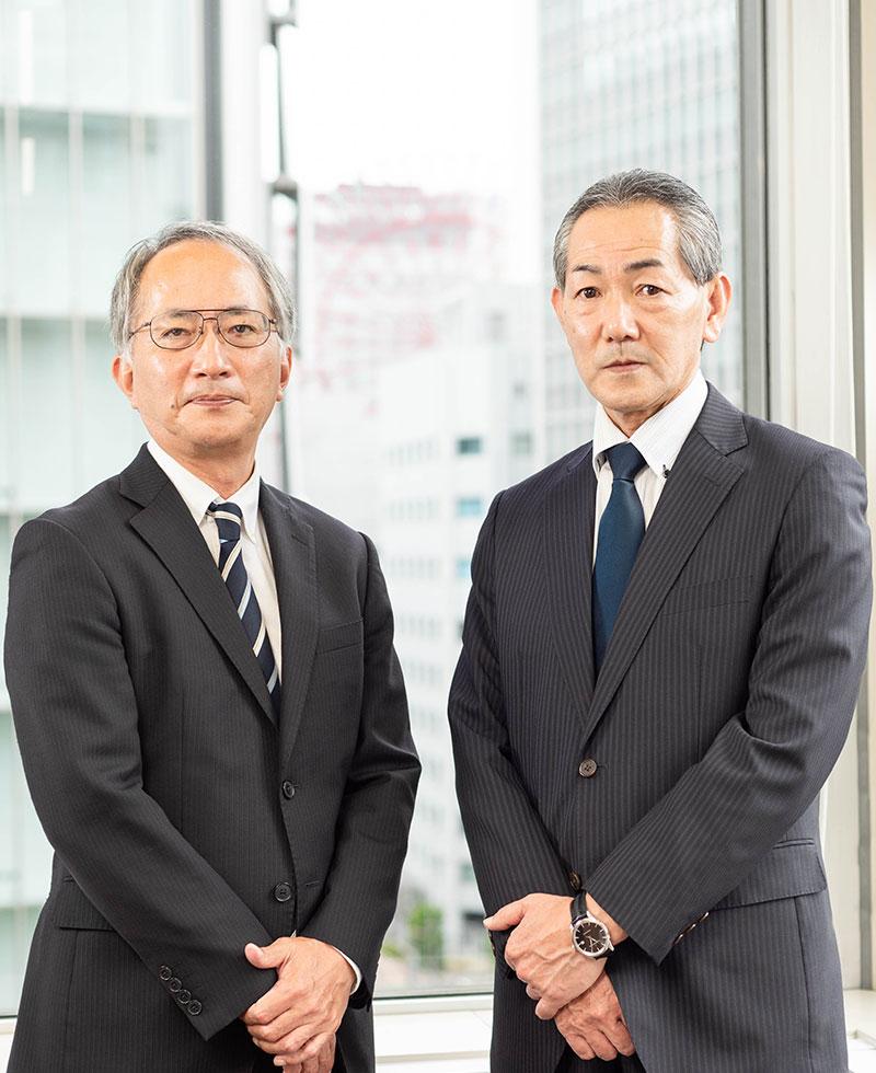 株式会社オリジン商事 代表取締役会長 中本 仁 代表取締役社長 駒形秀樹
